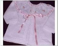 Cheap High quality 100% cotton chunky baby hand knitted cardigans for Baby Girls wholesale