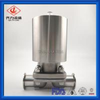 """Cheap 3/8"""" Mini Pneumatic Operated Diaphragm Valve Male Thread With Actuator wholesale"""