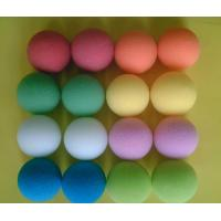 Cheap Colored Styrofoam Balls	, Good Elasticity Super Softness Polypropylene Foam Stress Balls for sale