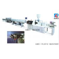 Cheap Carbon Spiral Reinforcing Plastic Pipe Extrusion Line , PE Pipe Plastic Extrusion Machine wholesale