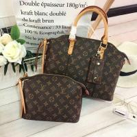 China LV CLASSIC THREE PIECE SUIT 12CM LEATHER HAND HELD,MONOGRAM CANVAS LEATHER WITH SIMPLE FASHIONABLE DESIGN AND OUTFIT... on sale