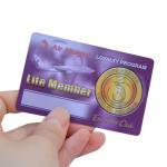 Cheap Laminated CMYK PVC Plastic Gift Cards Membership Card CR80 30mil Standard Size wholesale