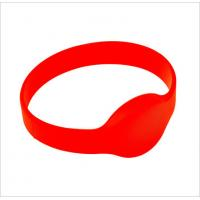 Quality Durable Passive G01 Oval Shaped Watch-dia RFID Chip Silicone Wristband or for sale