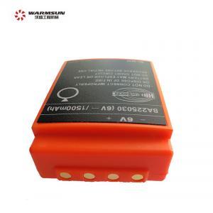 Cheap 60004234 1500mAh 6V HBC Radiomatic Remote Control Concrete Pump Spare Parts wholesale