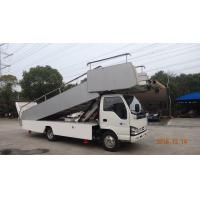 Portable Aircraft Passenger Stairs 3870 Kg Front Axle Carrying Capacity