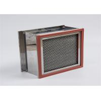 Cheap Pharmaceutical Industrial Hepa Filter Heat Resistant Stainless Steel Frame wholesale