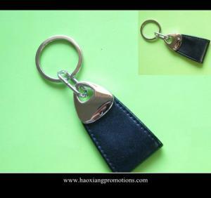 Cheap Fashion Car Logo Keychain Genuine Leather Car Keychain,Leather Keychain/PU keyring wholesale