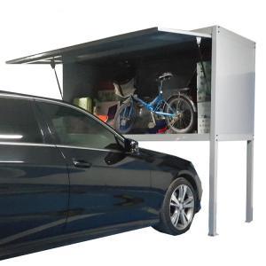 Cheap 0.8MM Thickness Home Depot Garage Cabinets , Huge Capacity Garage Storage Locker wholesale