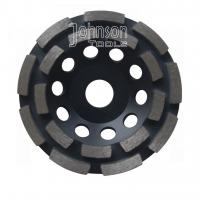 Cheap Double Row Diamond Grinding Wheel For Fast Grinding Mid Hard Concrete wholesale