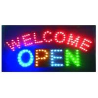 Cheap LED sign LED WELCOME OPEN sign for sale