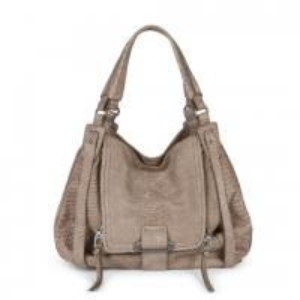 Cheap OEM Hobo Leather Handbags Made of Embossed Snake Leather , Custom Make Stylish Bag wholesale