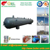 Cheap Cylindrical booster boiler mud drum ASME wholesale