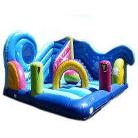Cheap 5 In 1 Combi Air Sewing Pvc Inflatable Amusement Park With 1 Year Warranty wholesale