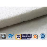Cheap Fiberglass Needle Mat Heat Insulation Car Muffler 25MM White E Glass Fibre Felt wholesale