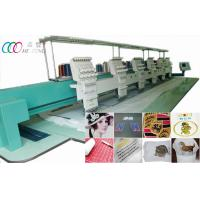 Cheap Automatic Cap / T-shirt Six Head Embroidery Machine , 550*450mm Embroidery Area wholesale