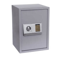 Cheap Waterproof Electronic Key Safe Box , security storage safe box for office/home/hotel wholesale