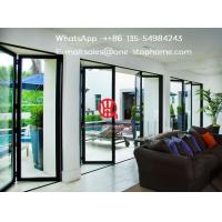 China High Heat Insulation Performance,Artistical Aluminum Alloy Sliding Glass Bi-folding Doors on sale