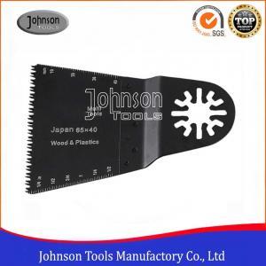 Cheap 65x40 Mm Universal Standard E Cut HCS Saw Blade Multi Oscillating Tool wholesale