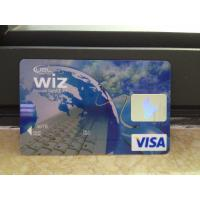 Cheap New VISA Classic Card / Plastic Debit Card with High-tech Printing Quality wholesale