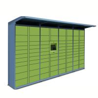 Cheap H1980 * W900 * D500mm Parcel Delivery Locker No Ads Screen For Public Area wholesale