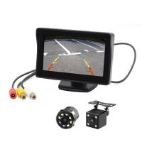 Cheap TFT 4.3'' Car Rear View Monitor 338g Light Weight Low Power Consumption wholesale