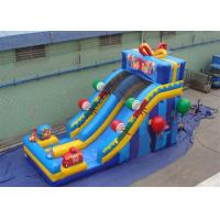 Buy cheap Happy Birthday Gift Inflatables Water Slides , Inflatable Candy Slide with Advance Printing from wholesalers