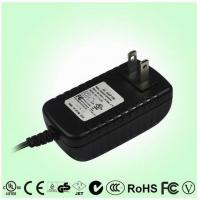 China High efficiency Wall Wart Power Adapter 12 Volt , 2.5A switching power adapter on sale