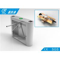Mechanical Tripod Barrier Gate , High Stablility Security Waist Height Turnstile