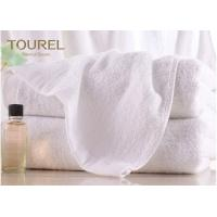 Cheap 100% Cotton Terry Hotel Hand Towels Embroided White Color Luxury Hand Towels wholesale