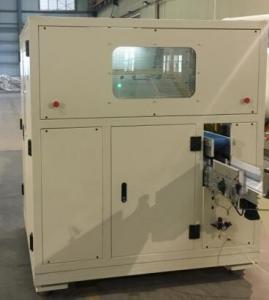China Toilet Tissue Paper Cutting Machine , Automatic Paper Die Cutting Machine 8.6kw on sale