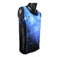 Cheap Beautiful Blue Color Casual Sport Clothes Dry Fit Mens Running Tank Tops wholesale
