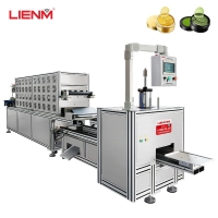 Buy cheap New Automatic Cosmetic Crystal Eye Mask Filling Machine Forming Line For Skin from wholesalers