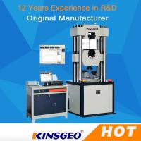 Cheap Electro Hydraulic Servo Function Universal Testing MachineS Computerized wholesale