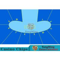 Cheap Anti - Slippery Roulette Wheel Layout / Craps Board Layout With Smooth Surface wholesale