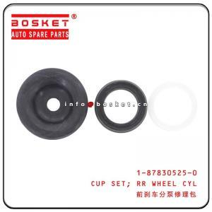 Cheap 1-87830525-0 1878305250 Isuzu Brake Parts Rear Wheel Cylinder Cup Set  For 10PE1 CXZ81 wholesale