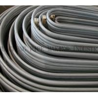 Cheap ASTM A210 A106B / A53B / A179 / A192 ERW U Bend Pipe Tubes Annealed , Length 6 m ~ 25m wholesale