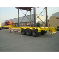 Cheap 40ft 20ft container chassis semi trailer for sale - CIMC VEHICLE wholesale