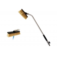 Buy cheap Household Elastomer Handle Extension Cleaning Brush from wholesalers