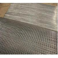 Food Grade Wire Conveyor Belts Stable Chain Drive Argon Welding For Biscuit