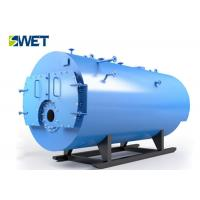 China Double Drum Industrial Water Tube Boiler, Gas Fired Fuel Longitudinal Drum Boiler on sale