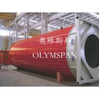 Horizontal Heating Thermal Oil Boiler Electric For Wood , Safe Monitor Device