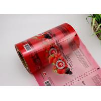 China Custom 10 Colors Plastic Roll For Packaging , Pouch Packing Machine Usage Film Roll on sale