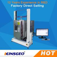 Cheap High Low Temperature Universal Testing Machines / Carton Compression Tester wholesale