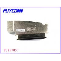 Cheap Amphenol 957 100 Pin Centronics Connector Male Plug IDC Type With Zinc Cover wholesale