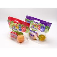 Buy cheap Customized Logo Printing Fresh Fruit Ziplock Plastic Pouch Eight Sides Seal from wholesalers