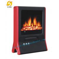 Cheap Portable Desktop Electric Fireplace Red Electric Fireplace Stove With CE / GS wholesale