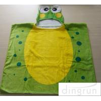 Cheap Bacteria Resistant Infant Hooded Towels , Kids Swimming Towels With Hoods wholesale