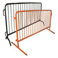 Cheap Easy Installation Metal Fence Accessories Temporary Construction Guardrails wholesale