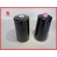 Cheap Knotless 100 Polyester Sewing Thread For Little Leather Goods / Clothes , Color Customized wholesale