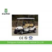 Cheap CE Certificate Fuel Type Electric Golf Carts White Model 4 Passengers Cheap Golf Buggy For Sale wholesale